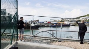 Filming Port of Dover